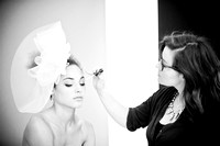 christina belle photography butter london rock your color collection bridal collection behind the scenes