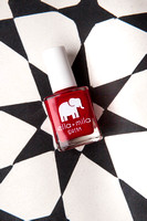 Ella + Mila Red vegan nail polish Christina Belle Photography